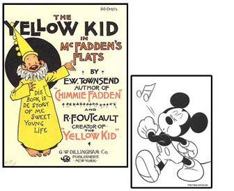 Yellow Kid e Topolino