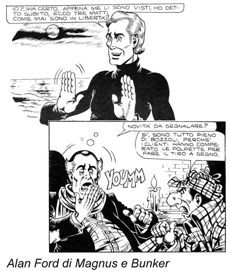 Alan Ford di Magnus e Bunker