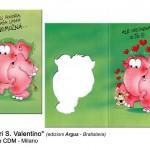 Auguri San Valentino - Agenzia CDM Milano - Edizioni Argus Bratislava