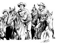 Tex Willer e Kit Carson