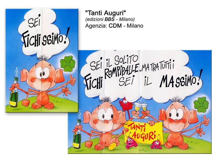 Tanti auguri - Agenzia CDM Milano - Edizioni BBS Milano