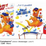 Buon compleanno - Agenzia CDM Milano - Edizioni Chromovogue Lione
